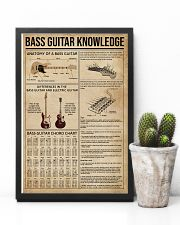 Bass Guitar Knowledge Instrument 11x17 Poster lifestyle-poster-8