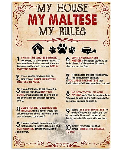 My Maltese My House My Rules