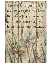 The Best Things In Life Dragonfly 16x24 Poster front