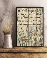 The Best Things In Life Dragonfly 16x24 Poster lifestyle-poster-3