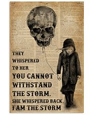 I Am The Storm Balloon Skull 16x24 Poster front