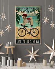 Cycling Club Bichon Frise 11x17 Poster lifestyle-holiday-poster-1