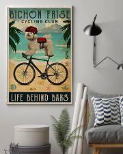 Cycling Club Bichon Frise 11x17 Poster lifestyle-poster-1