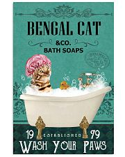 Green Bath Soap Company Bengal Cat 11x17 Poster front