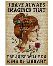 A Kind Of Library Reading Redhead 11x17 Poster front