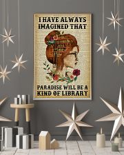 A Kind Of Library Reading Redhead 11x17 Poster lifestyle-holiday-poster-1
