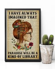 A Kind Of Library Reading Redhead 11x17 Poster lifestyle-poster-8