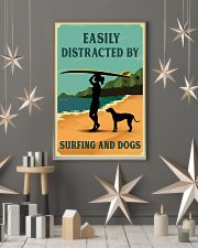 Vintage Distracted Surfing Rhodesian Ridgeback 11x17 Poster lifestyle-holiday-poster-1