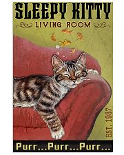 Living Room Cat 11x17 Poster front