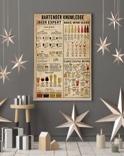 Bartender Knowledge 16x24 Poster lifestyle-holiday-poster-1