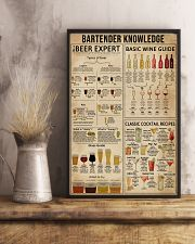 Bartender Knowledge 16x24 Poster lifestyle-poster-3