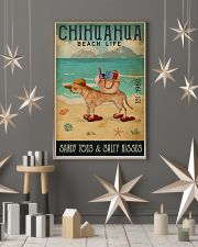 Beach Life Sandy Toes Chihuahua 11x17 Poster lifestyle-holiday-poster-1