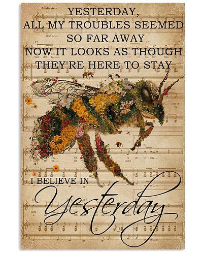Music Sheet Yesterday Bee