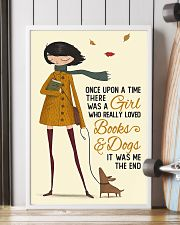 Autumn Girl Once Upon A Time Dog Reading 16x24 Poster lifestyle-poster-4