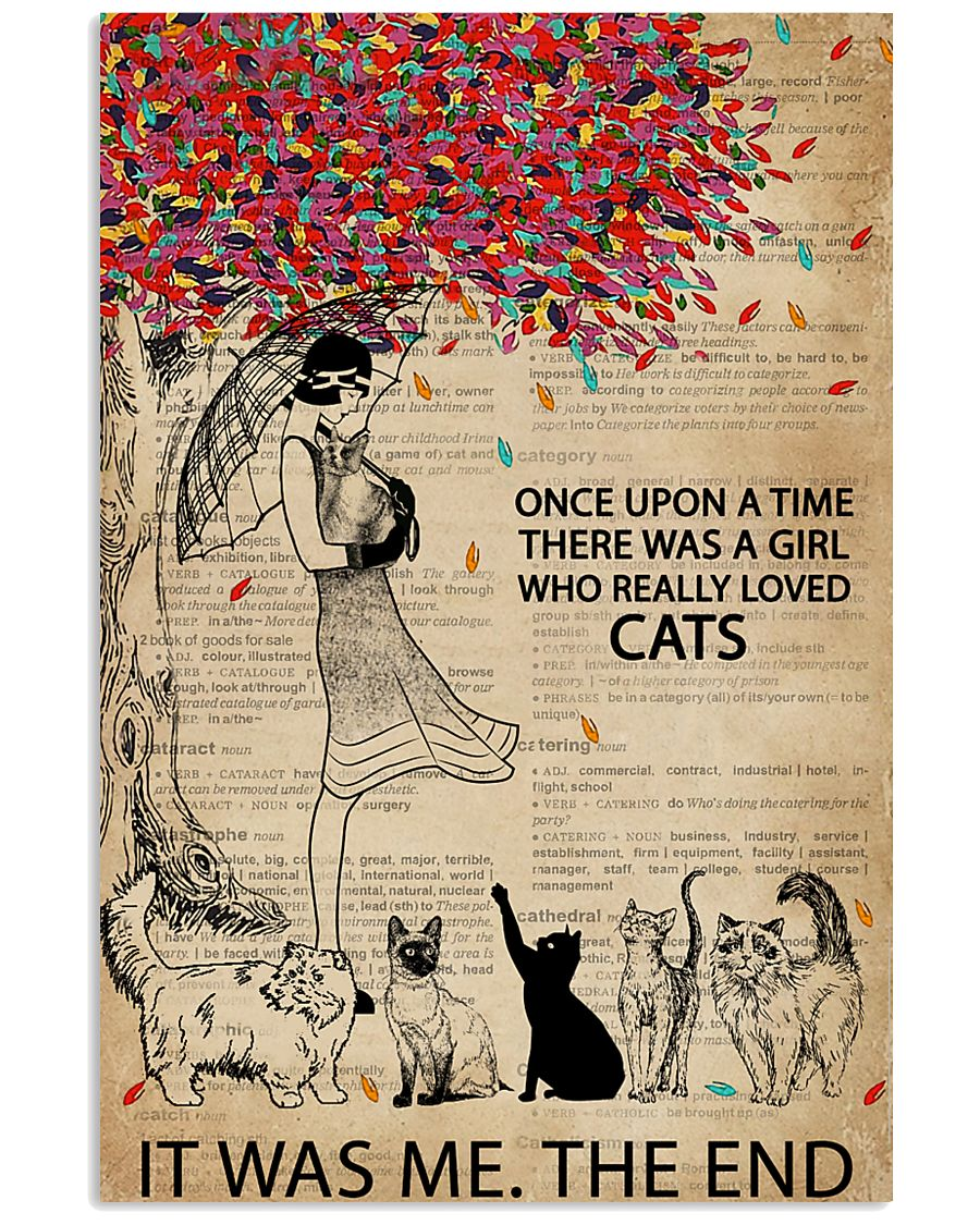 Dictionary Girl Once Upon A Time Cats 11x17 Poster
