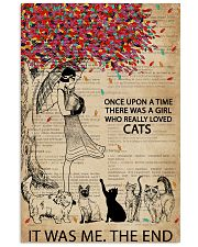 Dictionary Girl Once Upon A Time Cats 11x17 Poster front