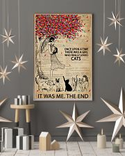 Dictionary Girl Once Upon A Time Cats 11x17 Poster lifestyle-holiday-poster-1