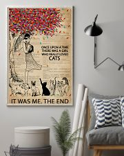 Dictionary Girl Once Upon A Time Cats 11x17 Poster lifestyle-poster-1