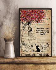 Dictionary Girl Once Upon A Time Cats 11x17 Poster lifestyle-poster-3