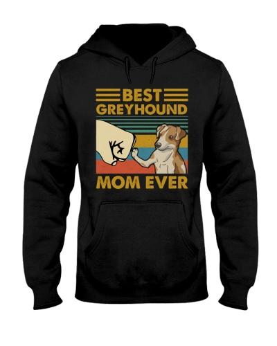 Retro Blue Best Greyhound Mom Ever