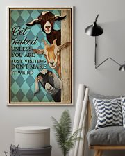 Unless You Are Just Visiting Goat Mint 16x24 Poster lifestyle-poster-1