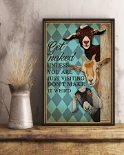 Unless You Are Just Visiting Goat Mint 16x24 Poster lifestyle-poster-3