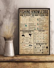 Fishing Knowledge 16x24 Poster lifestyle-poster-3