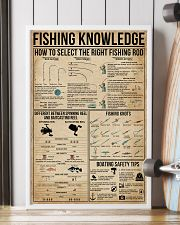 Fishing Knowledge 16x24 Poster lifestyle-poster-4