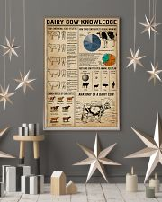Dairy Cow Knowledge Farm 16x24 Poster lifestyle-holiday-poster-1