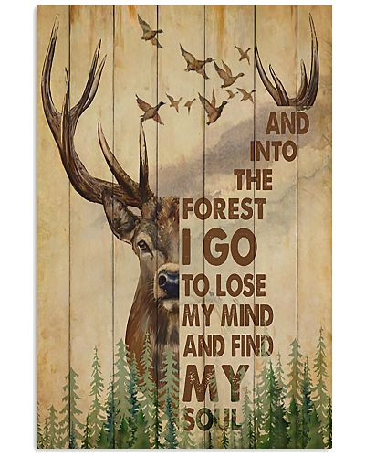 Hunting Deer And Duck And Into The Forest I Go