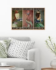 Mermaid It's Not A Phase 24x16 Poster poster-landscape-24x16-lifestyle-01