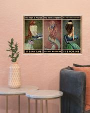 Mermaid It's Not A Phase 24x16 Poster poster-landscape-24x16-lifestyle-22