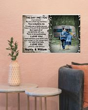 Personalized Camping The Day I Met 24x16 Poster poster-landscape-24x16-lifestyle-22