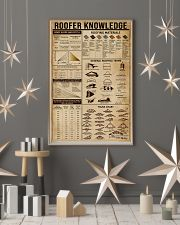 Roofer Knowledge 16x24 Poster lifestyle-holiday-poster-1