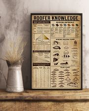 Roofer Knowledge 16x24 Poster lifestyle-poster-3