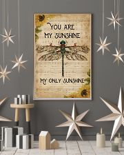 Music Sheet You Are My Sunshine Dragonfly 11x17 Poster lifestyle-holiday-poster-1