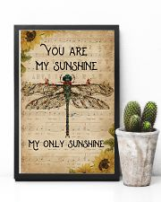 Music Sheet You Are My Sunshine Dragonfly 11x17 Poster lifestyle-poster-8