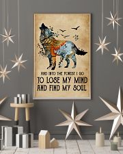 Blue Earth Lose My Soul Wolf 11x17 Poster lifestyle-holiday-poster-1