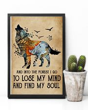 Blue Earth Lose My Soul Wolf 11x17 Poster lifestyle-poster-8