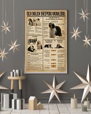 Old English Sheepdog Knowledge 11x17 Poster lifestyle-holiday-poster-1