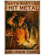 Blacksmith That's What I Do 16x24 Poster front