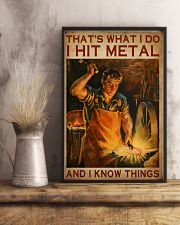 Blacksmith That's What I Do 16x24 Poster lifestyle-poster-3
