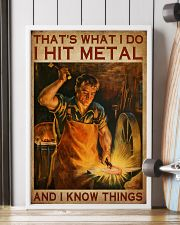 Blacksmith That's What I Do 16x24 Poster lifestyle-poster-4