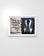 Personalize Penguin A Little Bit Of 24x16 Poster poster-landscape-24x16-lifestyle-02