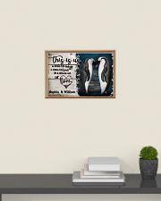 Personalize Penguin A Little Bit Of 24x16 Poster poster-landscape-24x16-lifestyle-09