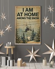 I Am At Home Among The Snow Skiing 16x24 Poster lifestyle-holiday-poster-1