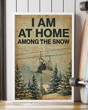 I Am At Home Among The Snow Skiing 16x24 Poster lifestyle-poster-4