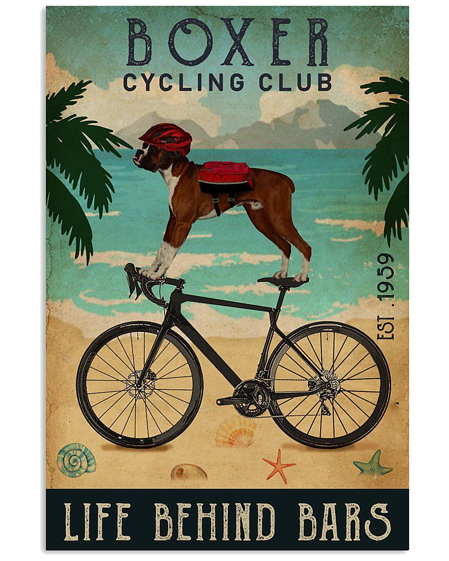 Cycling Club Boxer 11x17 Poster