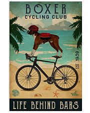 Cycling Club Boxer 11x17 Poster front