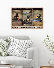 Kart Racing It's Not A Phase 24x16 Poster poster-landscape-24x16-lifestyle-01